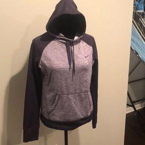 Tops - Purple Nike Hoodie!!!
